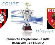 Coupe du district 1er Niveau