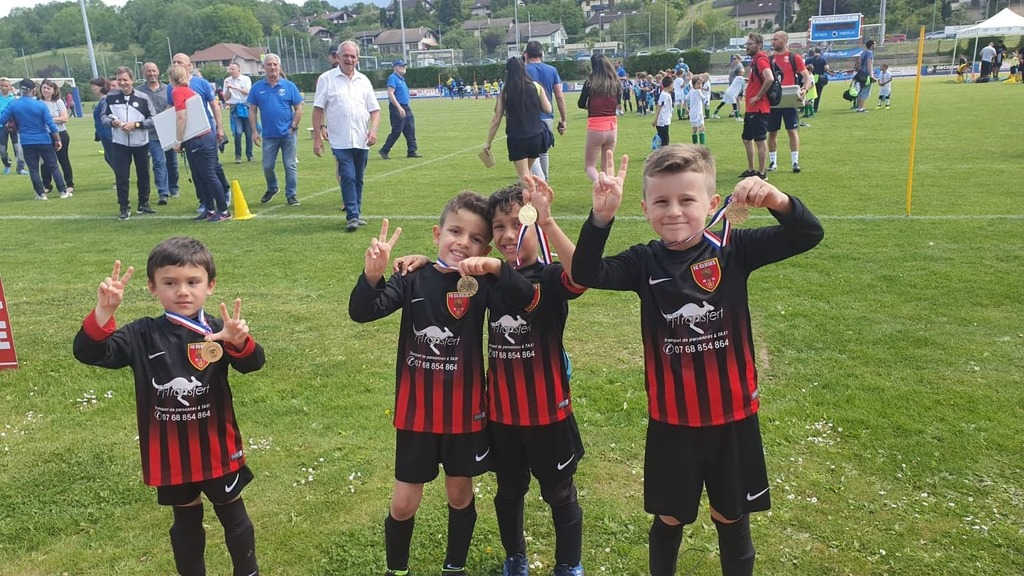 FC CLUSES Journée Nationale U7 à Ville la Grand
